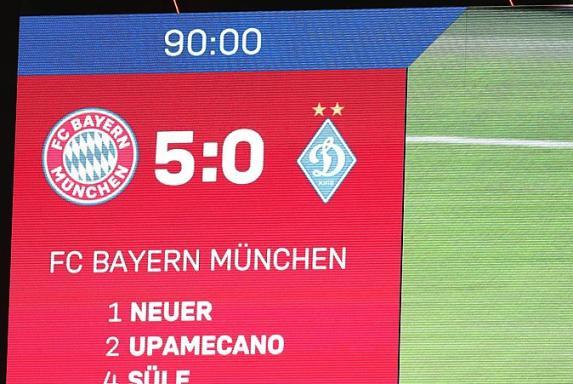 Nagelsmann nach Bayerns 5:0-Gala: Es geht noch besser