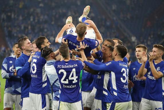 Schalke: So feiert Simon Terodde sein Tor-Jubiläum