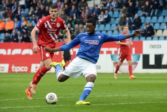 Richard Sukuta-Pasu: Ex-Bochumer wechselt in die 3. Liga