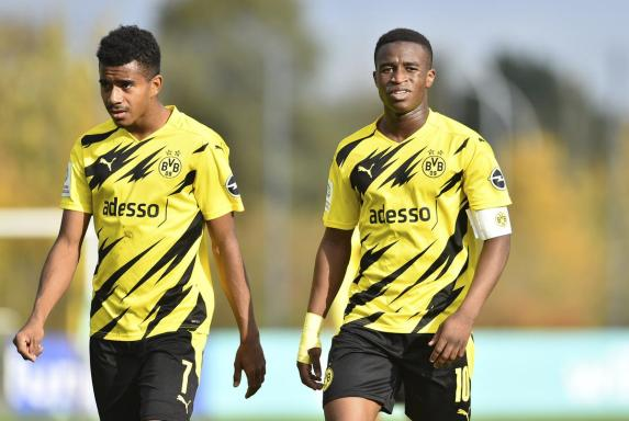 Nach Moukoko-Ausfall: Knauff für U21 nachnominiert