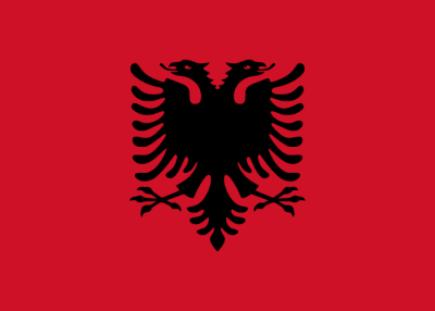 Flagge ALB