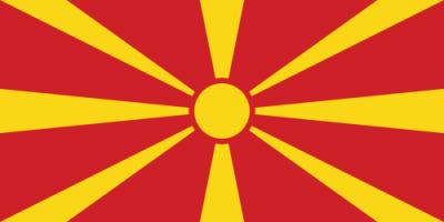 Flagge MKD