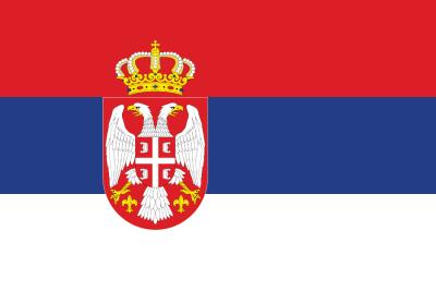 Flagge SRB