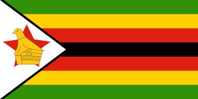 Flagge ZWE