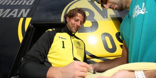 Autogramme Von Bvb Bvb Donnerstag Autogramme